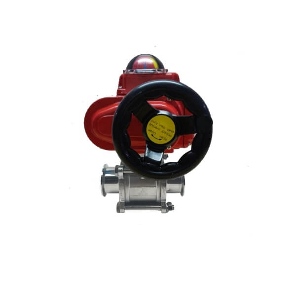 Motorized ball valve Triclover End